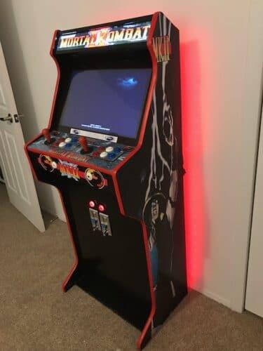 "IMG 2848 375x500 - Bartop 24"" + Pedestal with Mortal Kombat custom design -"