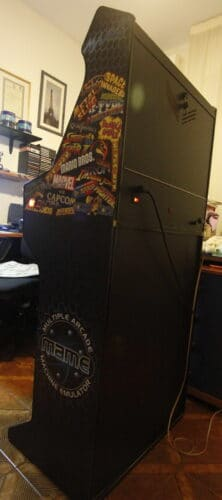 """Bartop Pedestal MAME 10 222x500 - Bartop 24"""" with stand and MAME design -"""