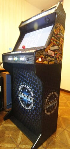 """Bartop pedestal MAME 235x500 - Bartop 24"""" with stand and MAME design -"""
