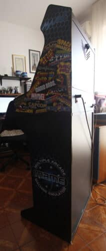 """Bartop pedestal MAME 3 212x500 - Bartop 24"""" with stand and MAME design -"""