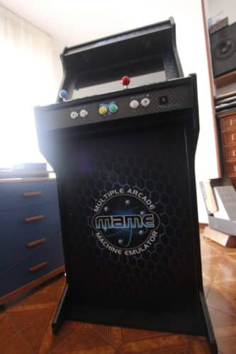 """Bartop pedestal MAME 4 333x500 - Bartop 24"""" with stand and MAME design -"""