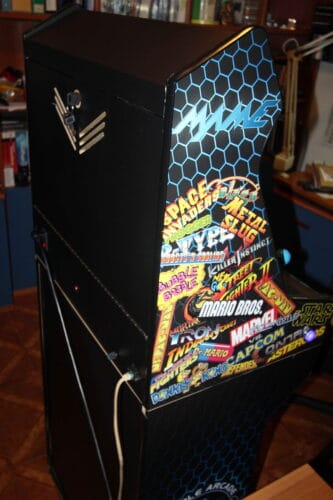 """Bartop pedestal MAME 9 333x500 - Bartop 24"""" with stand and MAME design -"""