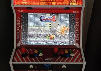 Bartop 24″ + stand with Metal Slug desing