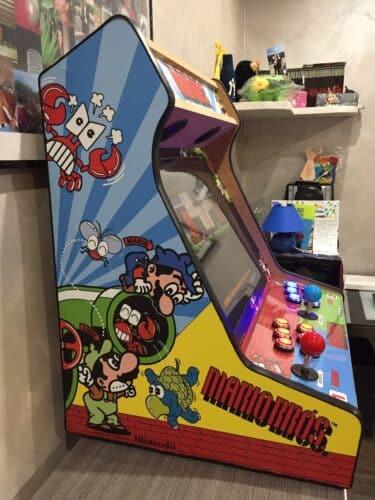 """bartop mario bros 3 375x500 - Bartop de 19"""" con diseño de Mario Bros -"""