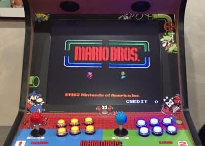 Bartop de 19″ con diseño de Mario Bros