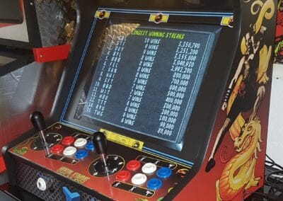 19″ Bartop with Mortal Kombat design