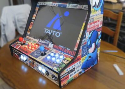 Bartop 24″ with custom design
