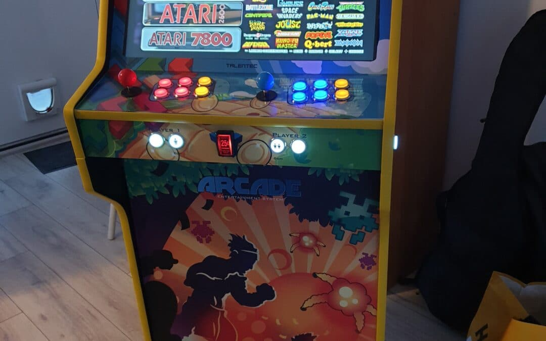 Bartop 24″ and stand with Mix Games design