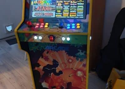 Bartop 24″ y pedestal con diseño Mix Games