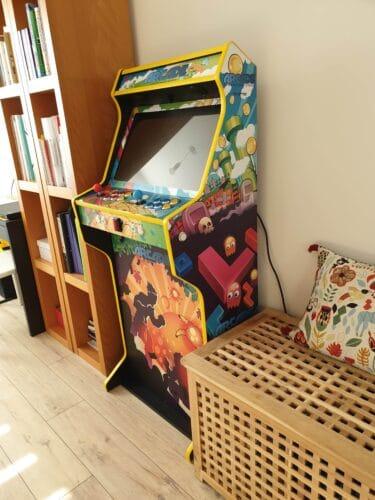 "Bartop Pedestal Mix Games 18 375x500 - Bartop 24"" y pedestal con diseño Mix Games -"
