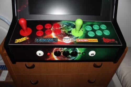 "Bartop personalizada 2 500x333 - Bartop 19"" with custom design -"