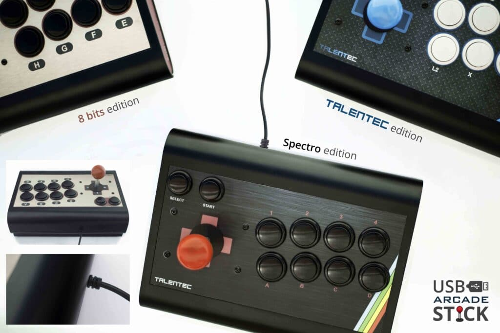 191011 diseños USB arcade stick 1024x683 - USB Arcade Stick PRO - Personnalisé Edition - usb-arcade-stick-fr