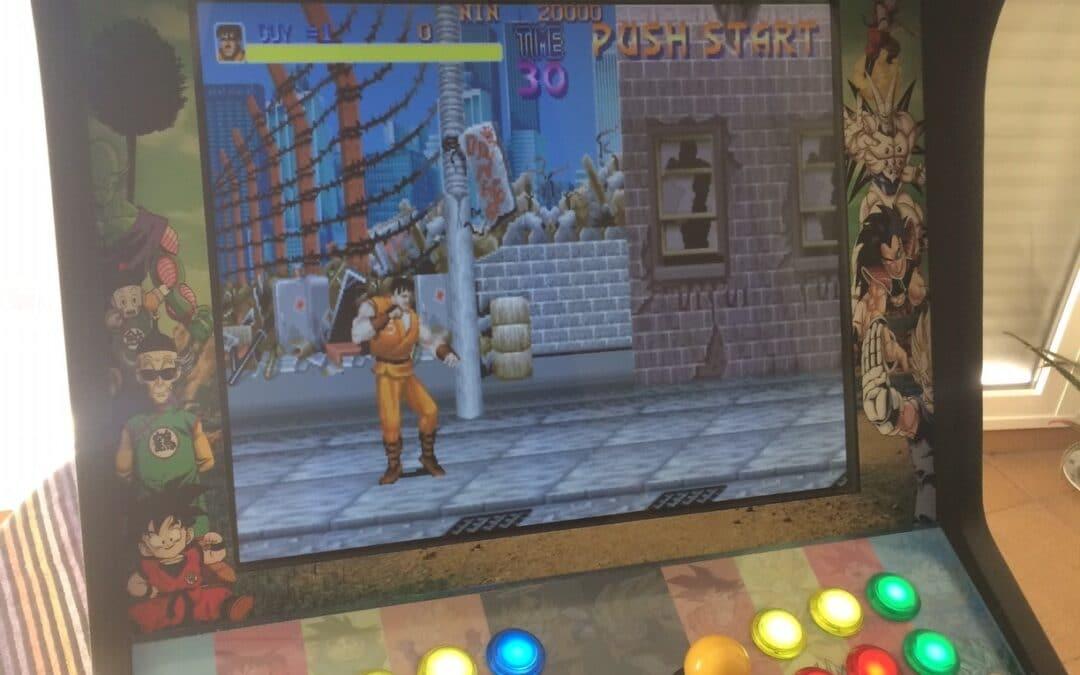 Bartop 19″ avec un design personnalisé de Dragon Ball Z