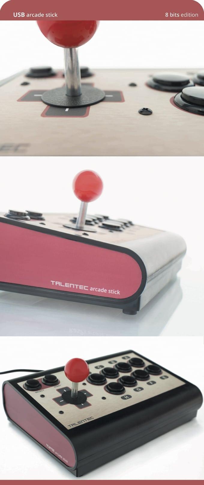 191022 8 bits USB arcade stick