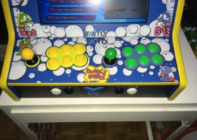 "Bartop 19 bubble bobble 05 min 400x284 - Bartop 19"" avec design de Bubble Bobble -"
