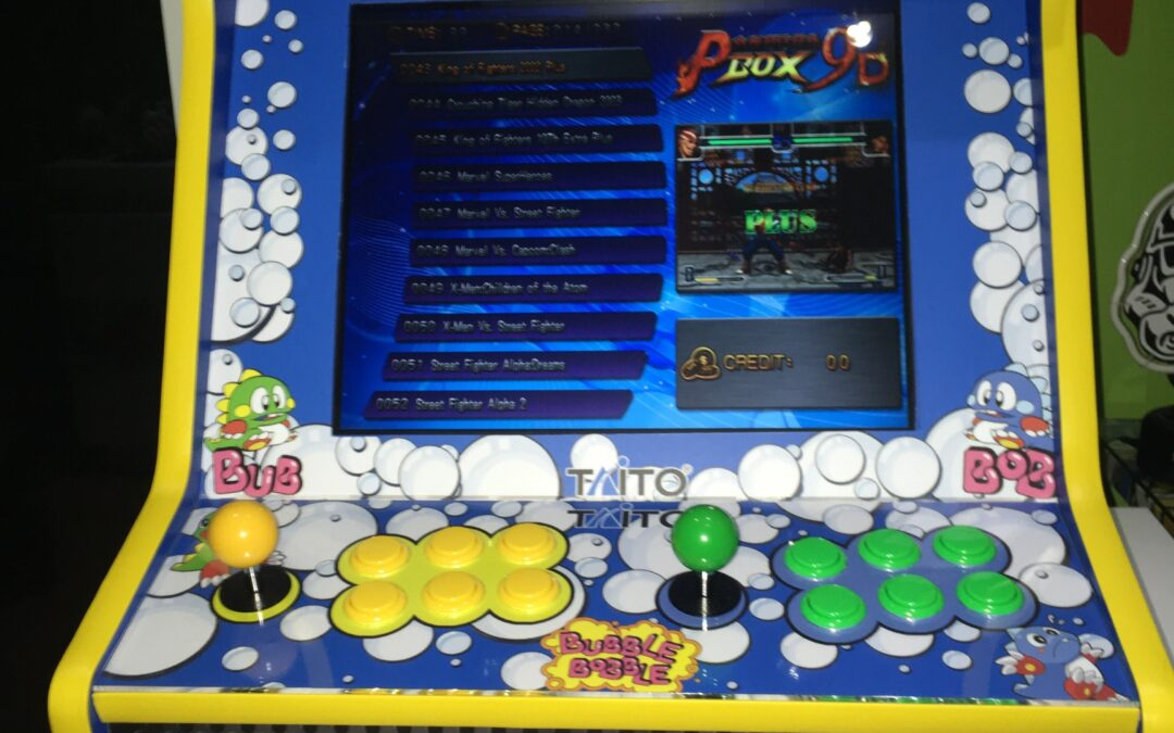 Bartop 19″ avec design de Bubble Bobble