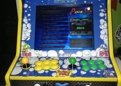 "Bartop 19 ""con design Bubble Bobble"