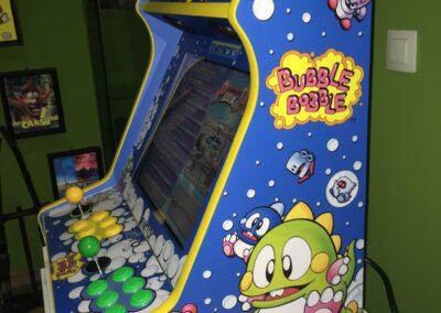 """Bartop 19 bubble bobble 07 min 400x284 - Bartop 19"""" con diseño Bubble Bobble -"""