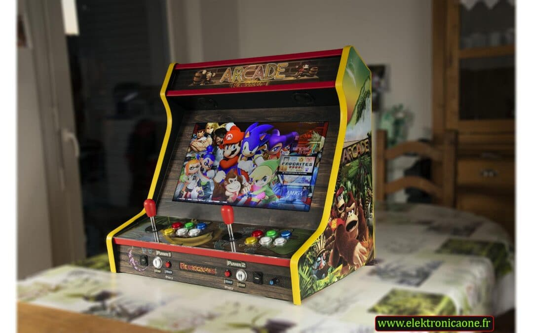 Bartop 24″ with Donkey Kong Arcade custom design