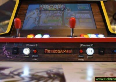 "Bartop Donkey Kong Arcade 2 400x284 - Bartop 24"" with Donkey Kong Arcade custom design -"