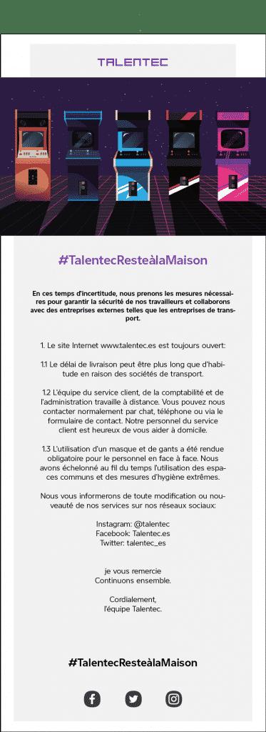 , #TalentecResteàlaMaison, Talentec