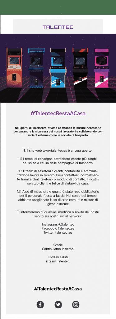 , #TalentecRestaACasa, Talentec