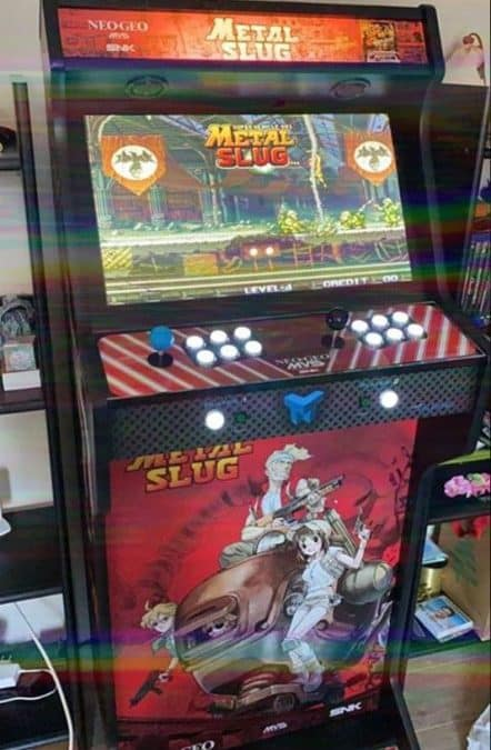 Bartop 19″ Metal Slug