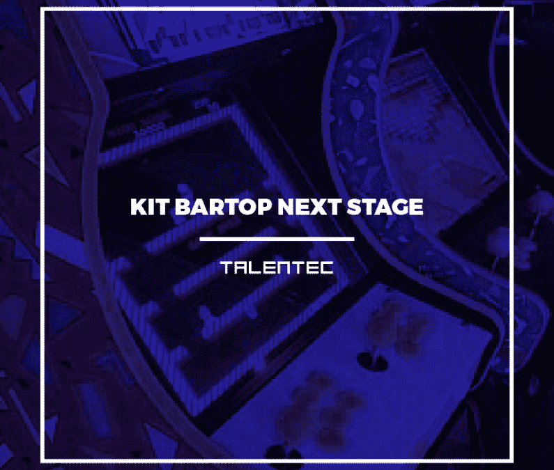 ¿Quieres aprender a montar un kit Bartop Talentec?