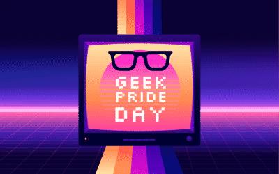 We want to celebrate geek pride week with you!