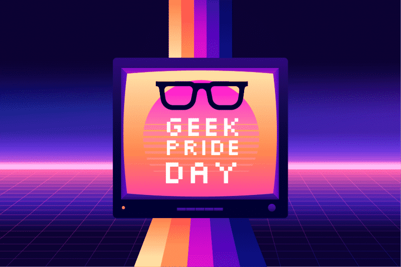 We want to celebrate geek pride week with you!