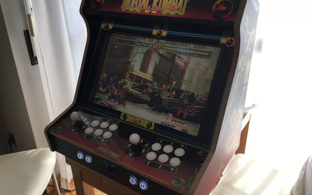 Bartop 24 pouces avec design Mortal Kombat