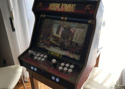 Bartop de 24″ con diseño Mortal Kombat